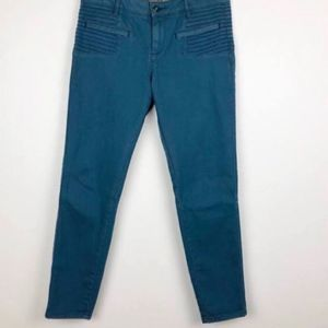 Anthro Daughters of the Liberation Moto Jeans G25
